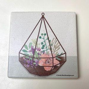 Terrarium Floral Coaster
